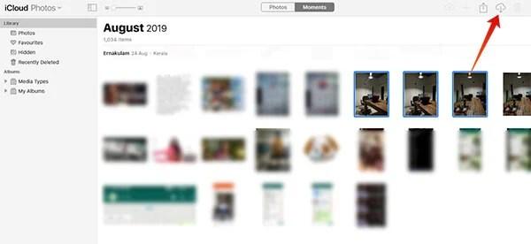 Download Photos from iCloud Photos