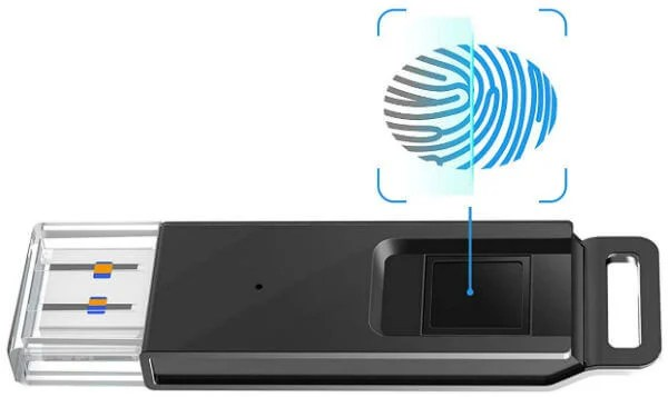 The Fingerprint locked USB drives are encrypted as well as protected from unauthorized access 10 Best Secure USB Drives with Fingerprint Access.