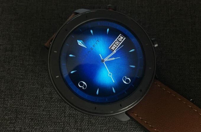 Amazfit GTR Watch Face Upload