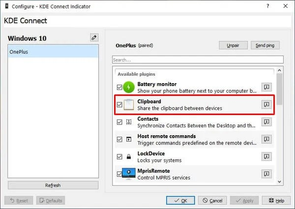 Universal Clipboard Android and Windows 10