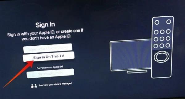 Apple TV Sign In on Firestick