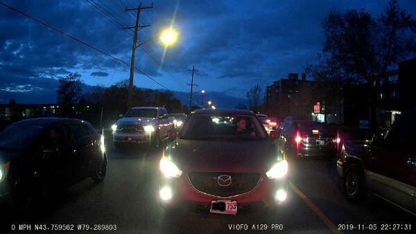 Viofo A129Pro 4K Rear Night