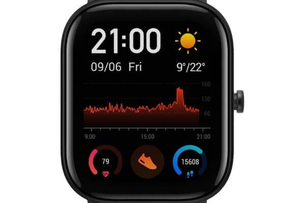Activity Tracking on Amazfit GTS Smartwatch