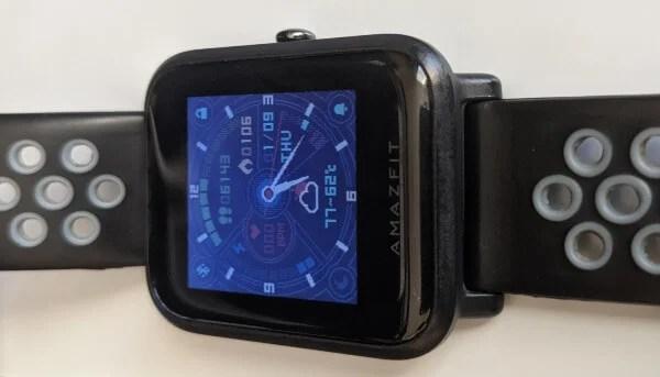 Amazfit Bip Smartwatch Review Display