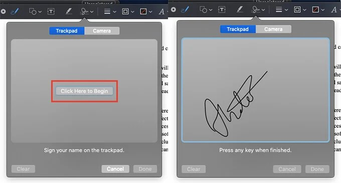 Add Signature to PDF on Mac Using Preview
