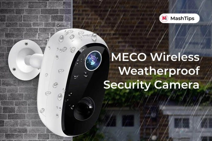 Review Meco Wireless Outdoor Security Camera Weatherproof