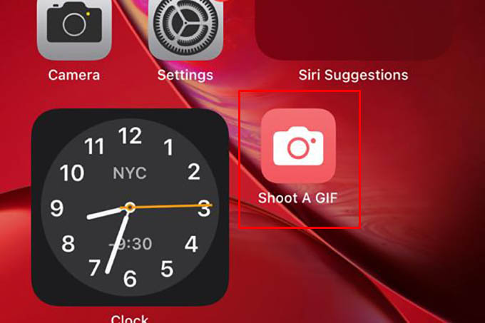 Shortcut as App Icon on iPhone Home Screen
