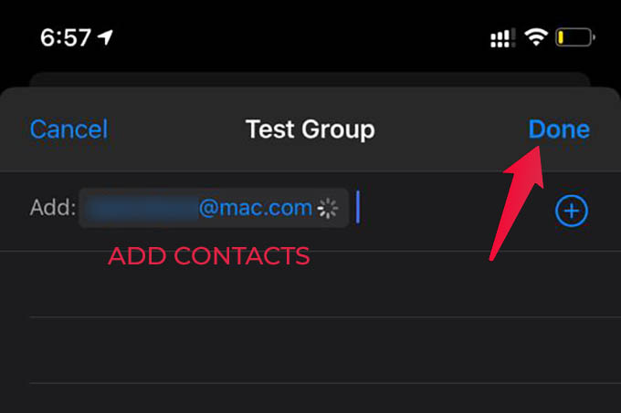 Add A Contact to iMessage Group Conversation