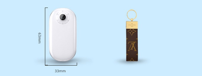 Akaso keychain design