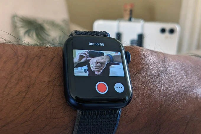 Apple Watch Camera Control App