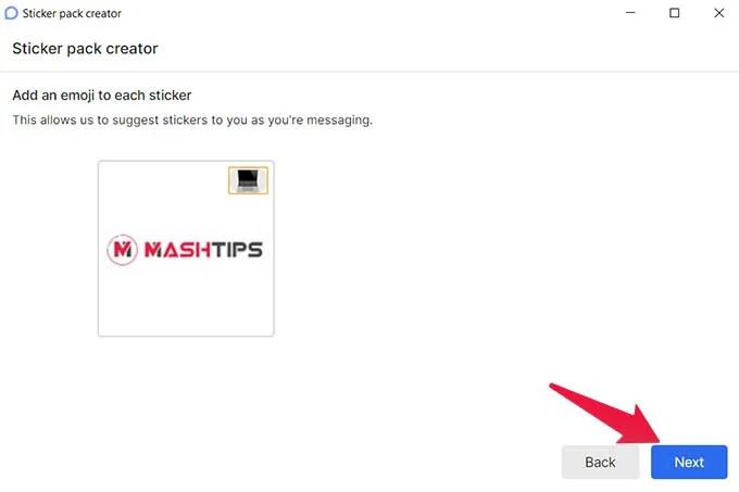 Assign Emoji to Sticker in Signal