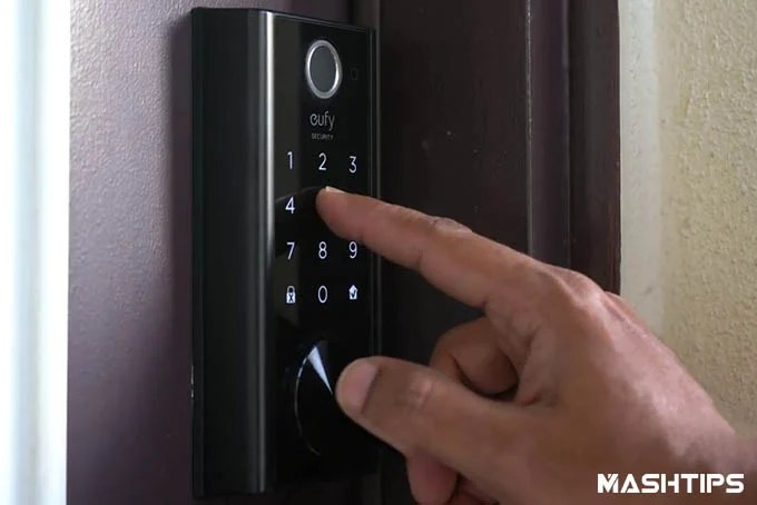 Eufy WiFi Smart Lock Passcode