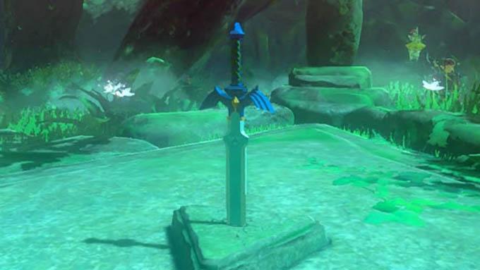 Legend of Zelda Breath of the Wild Master Sword