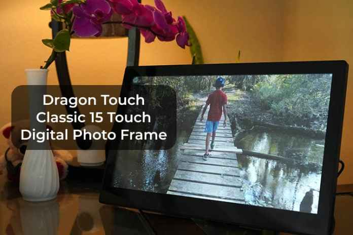Dragon Touch Classic 15 Touch Digital Photo Frame