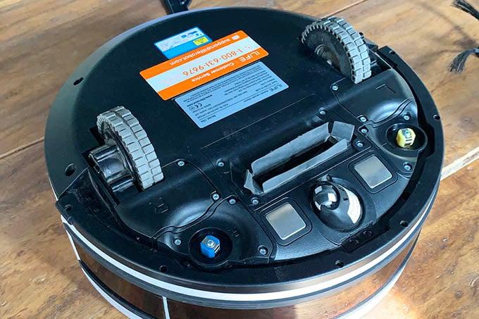 iLife V9e Robot Vacuum Cleaner Bottom