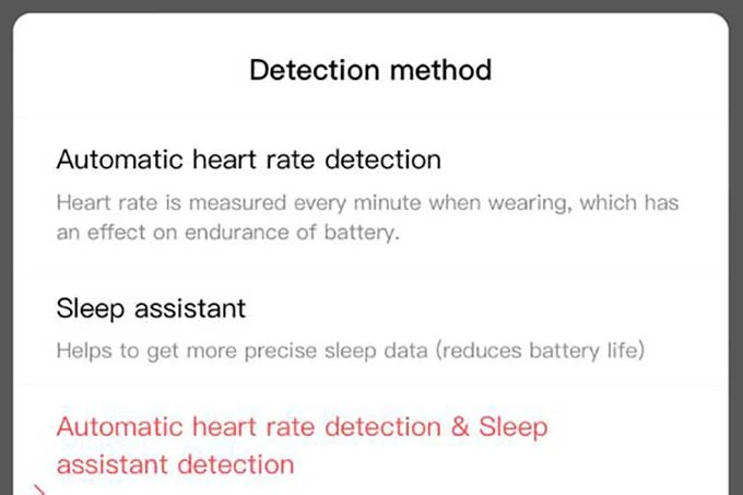 Enable Sleep Assistant on Amazfit Bip or Bip S