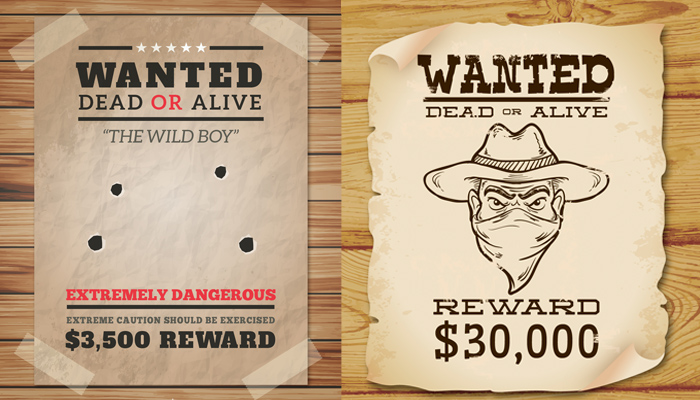 25 free wanted poster templates