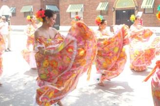 Dancers of The Ballet Folklorico Las Hijas de Boriken