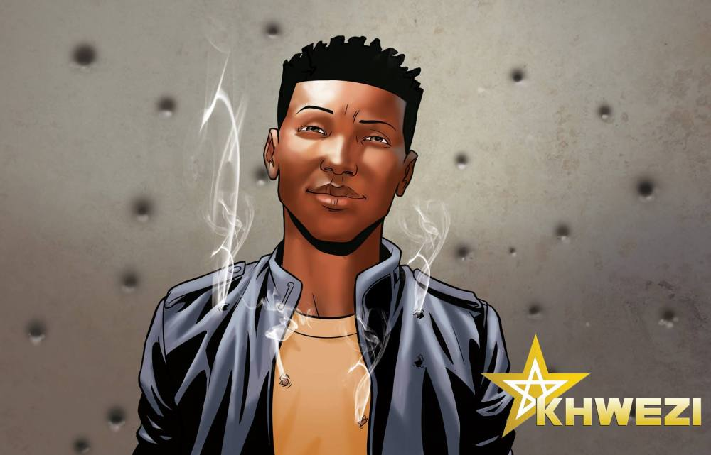 Loyiso Mkize's comic book makes it's debut. (1/3)