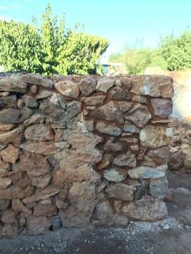 11 Cosido entre muros viejos-nuevos, con la misma técnica
