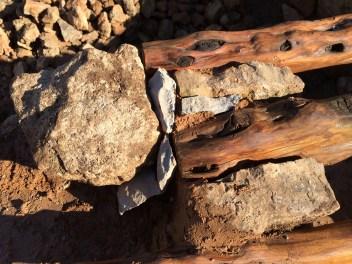 18 Composición 100% natural: piedra, barro, cal y madera