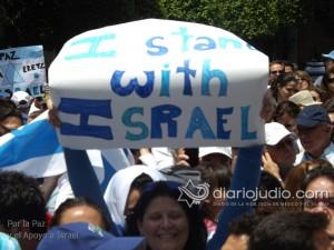 manifestacion pro israel 1114