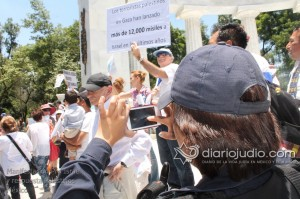 Manifestacion Pro Israel Hemicili Juarez  115