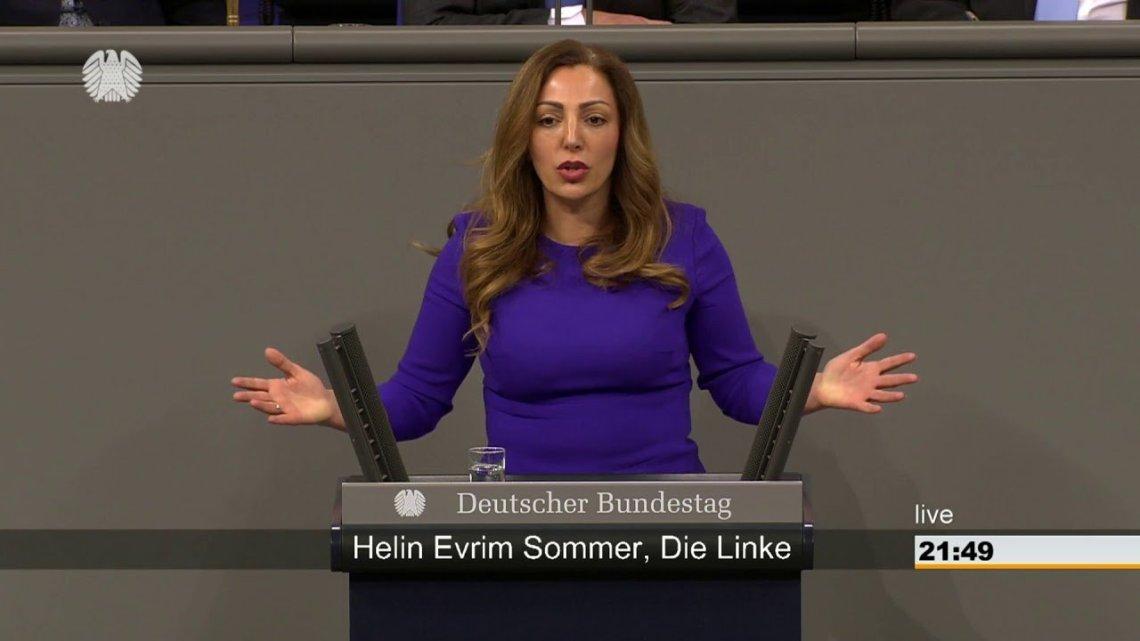 «Als Politikerin in Deutschland sehe ich meine Aufgabe darin, friedliche Konfliktlösungen zu unterstützen, so auch im Fall des armenisch-aserbaidschanischen Konflikts um Bergkarabach.» — Helin Evrim Sommer