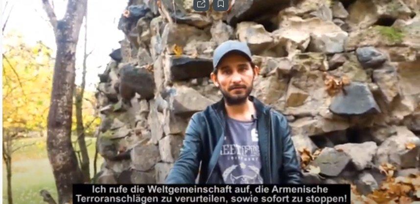 Mitglied der deutschen Gemeinde in Aserbaidschan verurteilt armenische Aggression