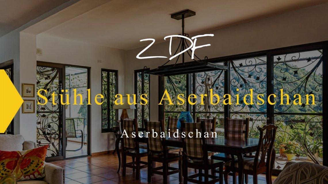 Stühle aus Aserbaidschan: Die drücken im Rücken
