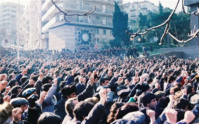 Collapse of the Soviet Union and blowback in Baku January 20, 1990