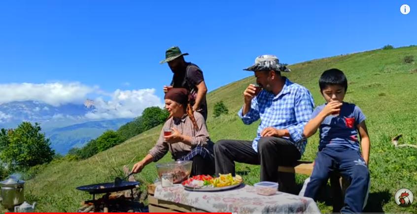 Блог «Kənd Həyatı» (жизнь в деревне) — Азербайджан