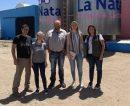 Evaluaron proyectos del sector agroalimenticio en Colonia Santa Teresa