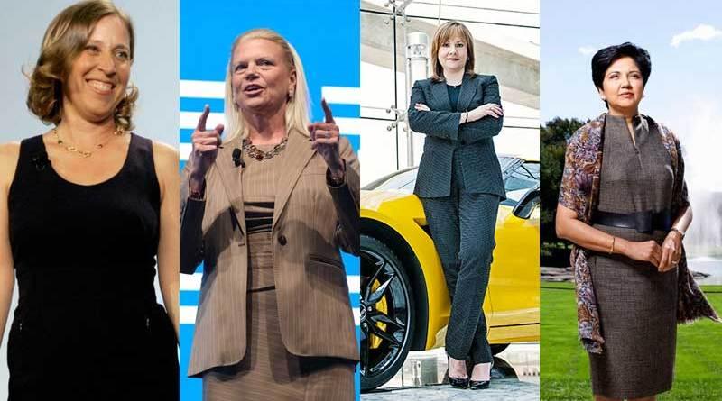 Mujeres lideres y CEO del mundo