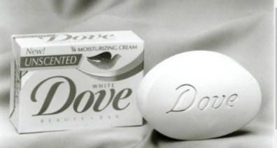 Lanzamiendo de jabón Dove