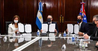 Rio Negro firmó acuerdo con empresa australiana para el desarrollo de la industria verde