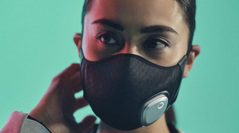 Philips presentó Fresh Air Mask, la primera mascarilla purificadora de aire