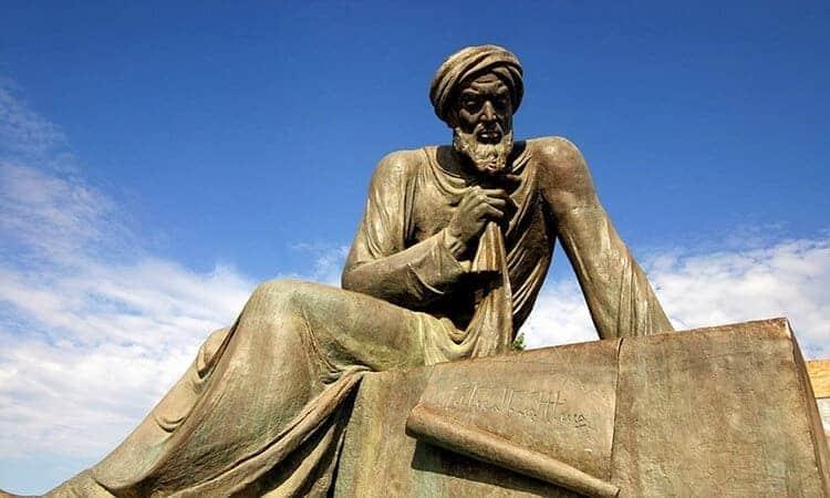 Patung matematikawan muslim, penemu muslim, patung al khawarizmi, patung algoritma