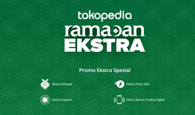 Ramadan ekstra, promo tokopedia, diskon tokped, mulai aja dulu