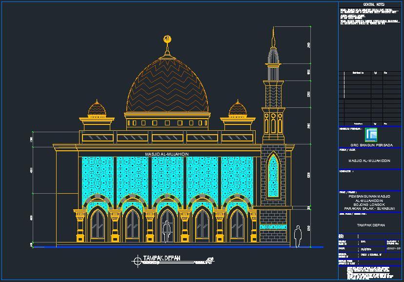 ARSITEKTUR MASJID  Masjid Jami AlMujahidin
