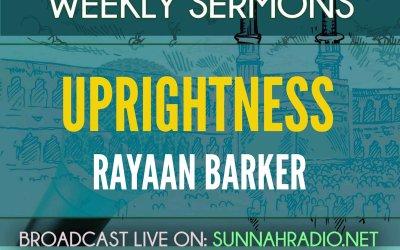 Khutbah: Uprightness