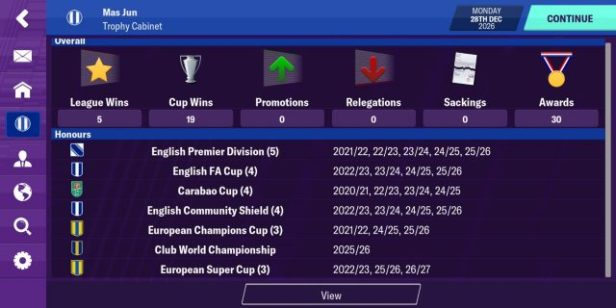 Rekomendasi Formasi Football Manager Mobile 2020