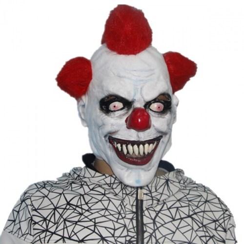 Маска клоуна из пранков Clown Prank