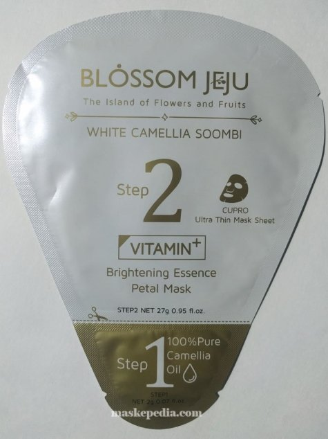 Jeju Blossom Brightening Vitamin Essence Petal Mask