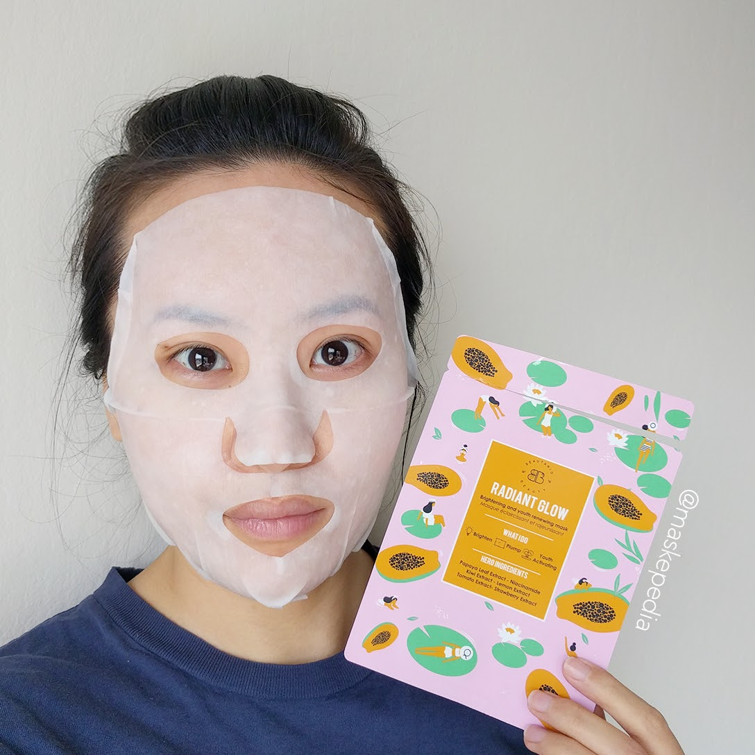 Beautaniq Radiant Glow Brightening & Youth Renewing Mask