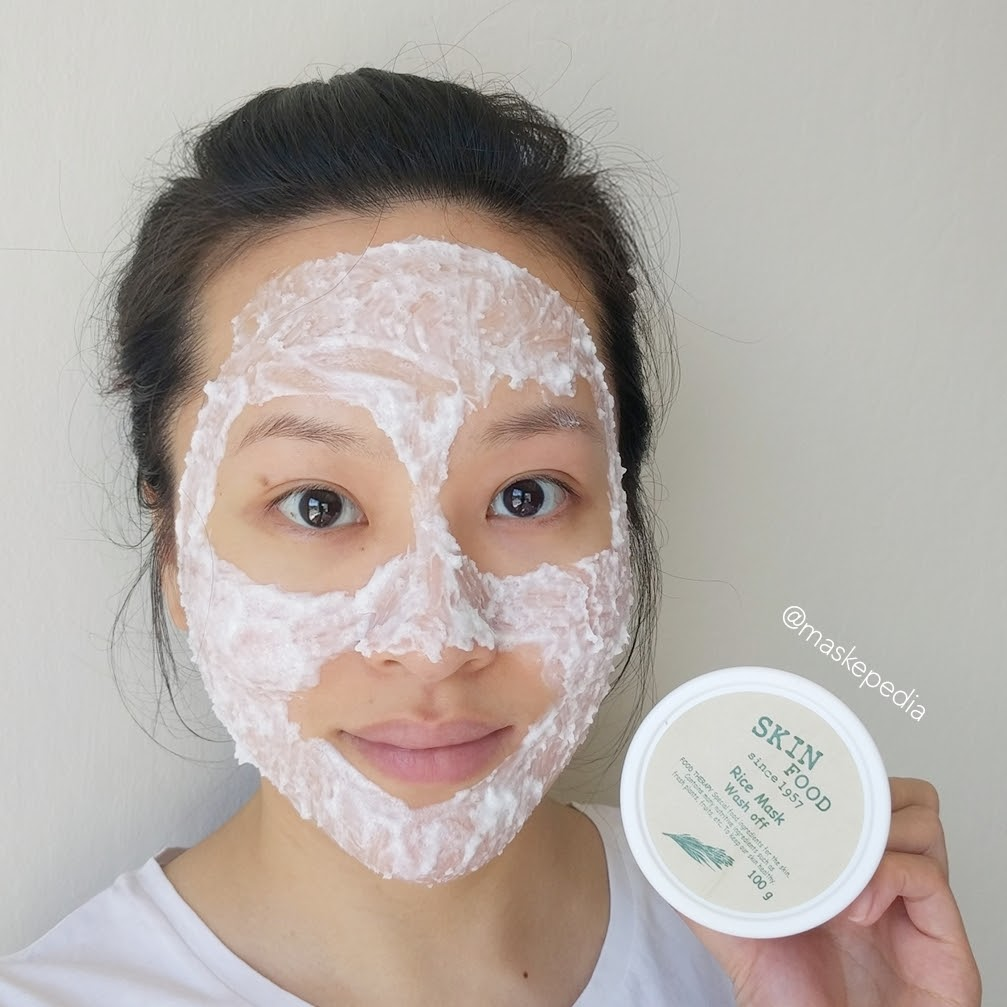 Wash Off Rice Mask by Skinfood #3