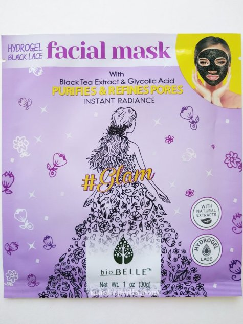Biobelle Purifying Black Lace Hydrogel #Glam Mask