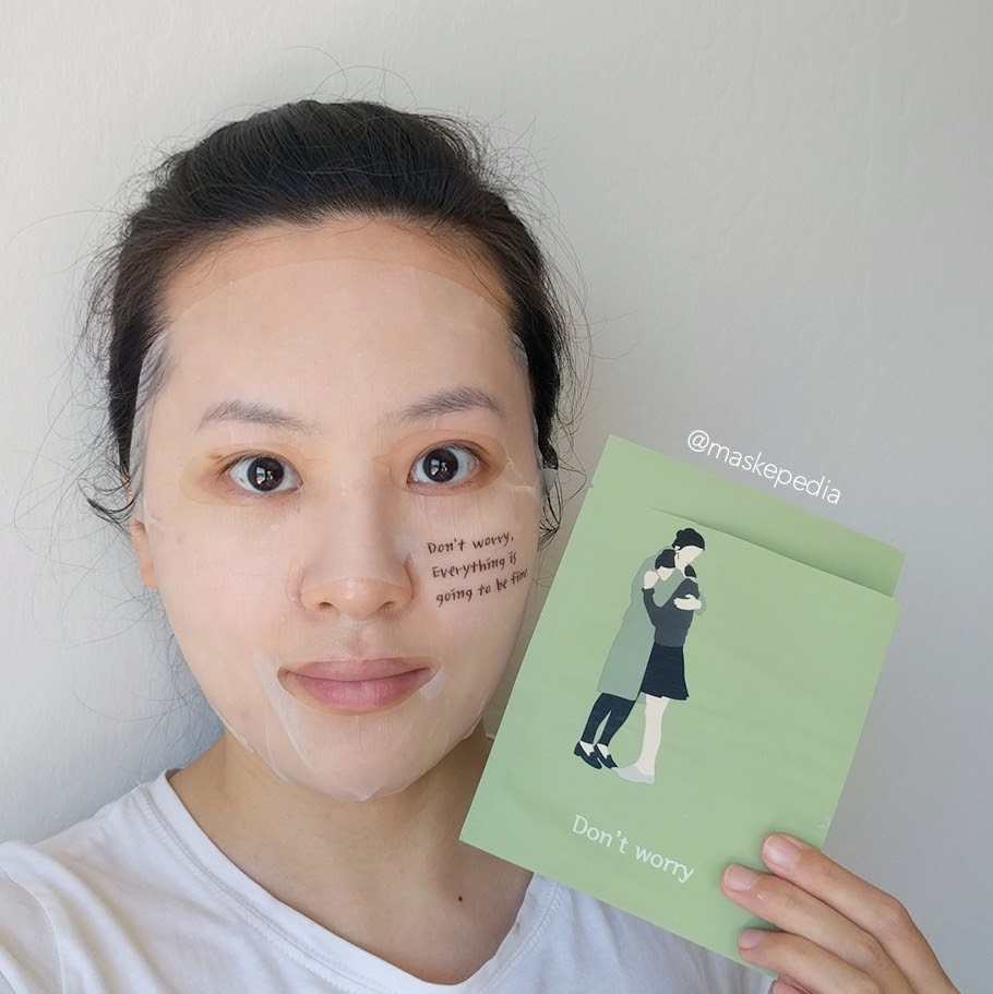 Package Korea Don't Worry Healing Mask
