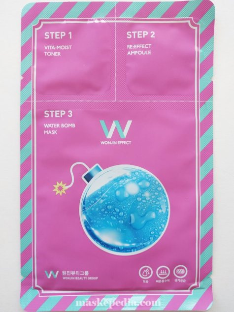 Wonjin Effect 3-Step Water Bomb Pack