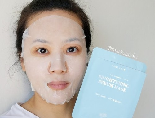 Healavie Brightening Serum Mask